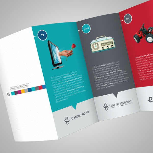 Top 4 formats for brochures that help your business stand for Ad agency brochure design