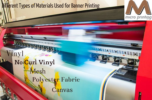 Different Types Of Materials Used For Banner Printing