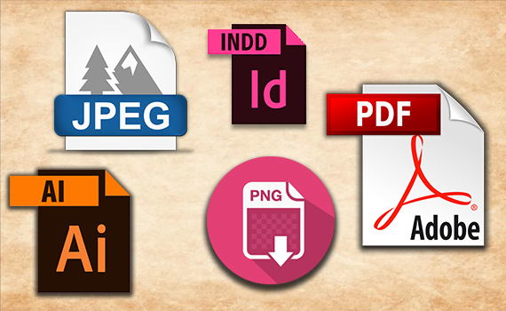 choose the graphics files that are compatible with the printer