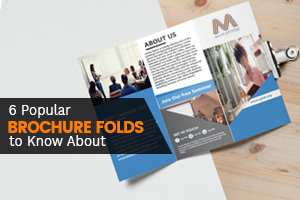 6 Popular Brochure Folds to Know