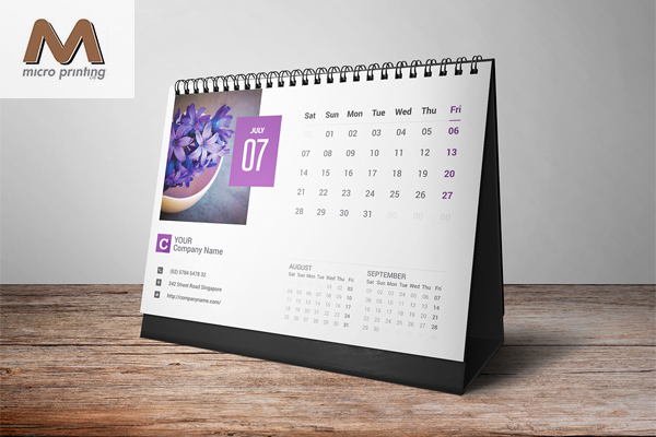 corporate desk calendar designlendar1