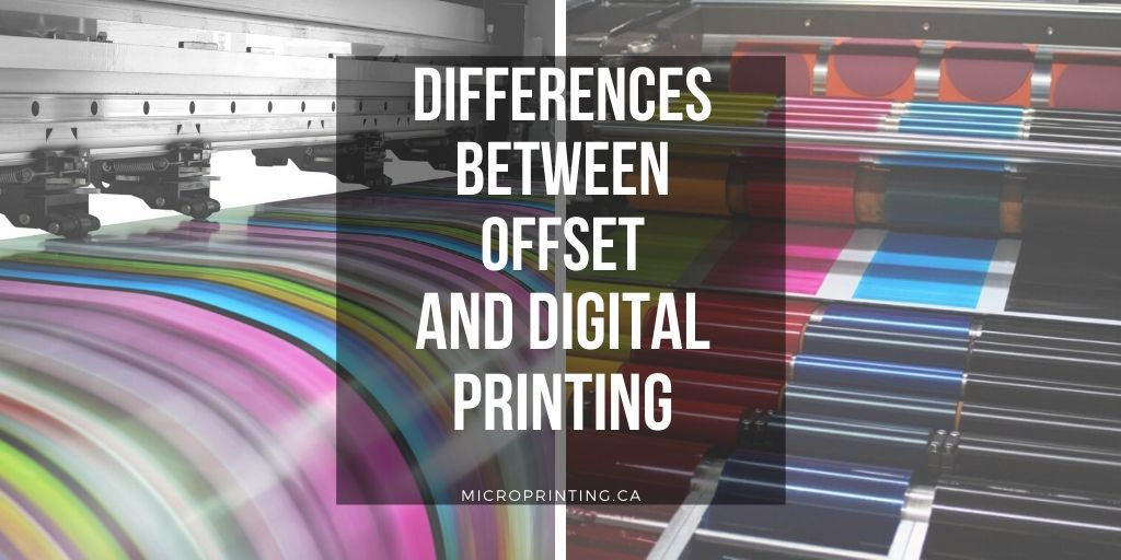 Differences Between Offset and Digital Printing