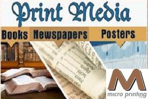 popular types of print media